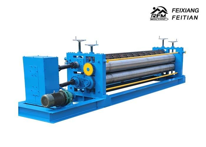 Corrugated Steel Panel Roll Forming Machine , Roofing Sheet Roll Forming Machine