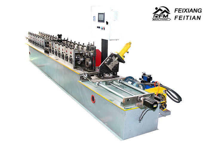 Ceiling Cross T Grid Light Keel Roll Forming Machine For Building Material