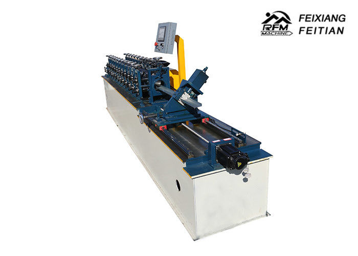 C U L W Light Gauge Steel Channel Roll Forming Machine 0.3-1 mm Thickness For Roof
